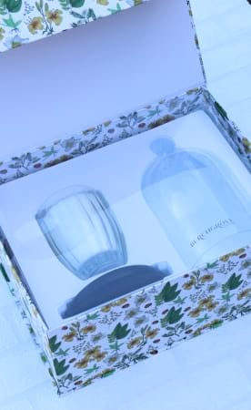Candle and Cloche Limited Edition Gift Set