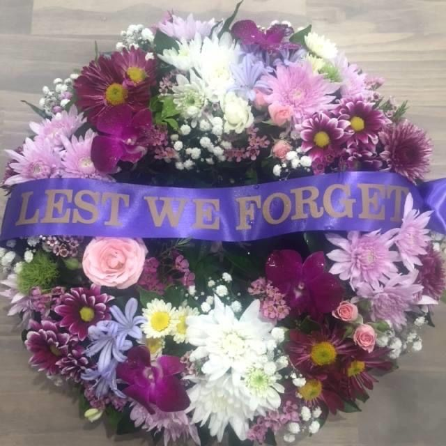 Memorial Anzac Day Wreath